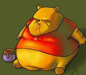 pooh gordo