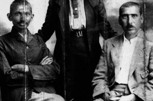 Gandhi y Hermann