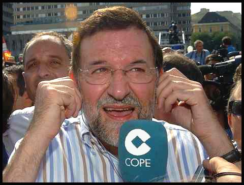 Rajoy cope