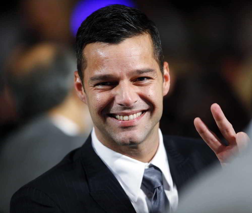 Ricky Martin apoya derechos gay en Puerto Rico